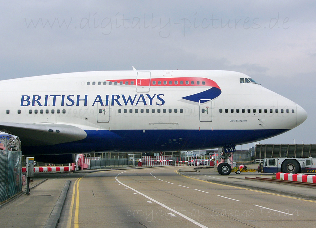 Boeing 747 London Heathrow