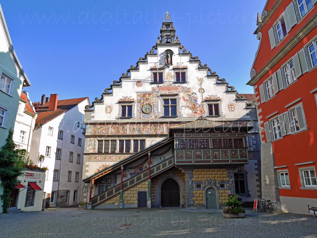 Lindau Bodensee Rathaus Maximilianstra 223 E Altstadt