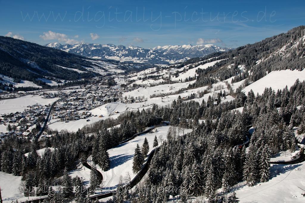 Bad Hindelang - Oberjoch - Winter - Schnee - Berge ...